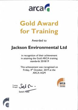 ARCA Gold Training 2019