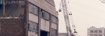 1986 – Demolished Commer Cars Factory, Biscot Road, Luton